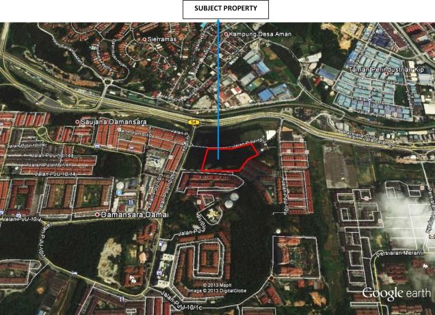 Damansara Damai, Sg Buloh Map