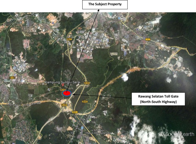 Gamuda-Rawang Map copy
