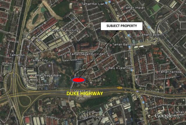 UOA Jalan Ipoh Land Map copy