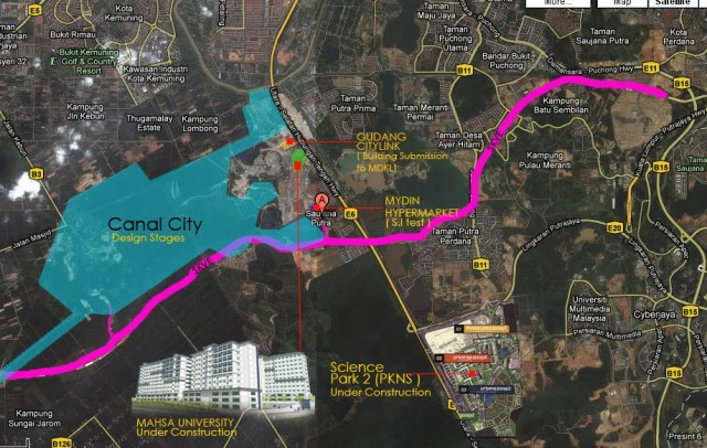 Canel City-Shah Alam