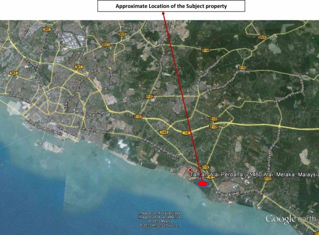 Seacera Land-Melaka tengah