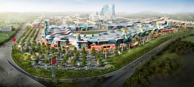 Asia trade center